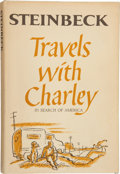 Books:Literature 1900-up, John Steinbeck. Travels with Charley....