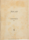 Books:Literature 1900-up, Aldous Huxley. Jonah....