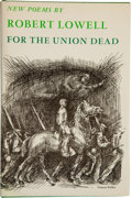 Books:Literature 1900-up, Robert Lowell. For the Union Dead....