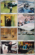 """Movie Posters:Action, The French Connection (20th Century Fox, 1971). Lobby Card Set of 8 (11"""" X 14""""). Action.. ... (Total: 8 Items)"""