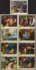 "Movie Posters:Adventure, Green Dolphin Street (MGM, 1947). Lobby Card Set of 8 (plus one) (11"" X 14""). Adventure.. ... (Total: 9 Items)"