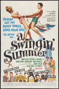"Movie Posters:Rock and Roll, A Swingin' Summer Lot (United Screen Arts, 1965). One Sheets (2)(27"" X 41""). Rock and Roll.. ... (Total: 2 Items)"