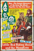 "Movie Posters:Fantasy, Little Red Riding Hood and the Monsters (K. Gordon Murray , 1964).One Sheet (27"" X 41""). Fantasy.. ..."