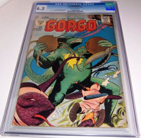 Gorgo #6 (Charlton, 1962) CGC FN+ 6.5 Off-white pages