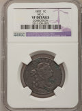 Large Cents, 1802 1C -- Corrosion -- NGC Details. VF. NC-1, B-3, High R.5....
