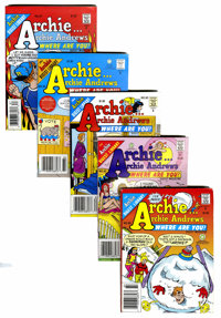 Archie...Archie Andrews, Where Are You? Group (Archie, 1977-95) Condition: Average FN/VF.... (Total: 65 Comic Books)