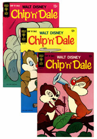 Chip 'n' Dale #1-64 File Copies Group (Gold Key, 1967-80) Condition: Average NM-.... (Total: 64 Comic Books)