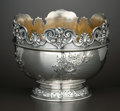 Silver Holloware, American:Bowls, AN AMERICAN SILVER AND SILVER GILT FOOTED BOWL . Reed & Barton,Providence, Rhode Island, circa 1940. Marks: (eagle-R-lion),...