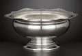 Silver Holloware, American:Bowls, AN AMERICAN SILVER FOOTED BOWL . International Silver Co., Meriden,Connecticut, circa 1950. Marks: (S in shield), STE...