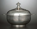 Silver Holloware, American:Bowls, AN AMERICAN SILVER COVERED BUTTER DISH . Tiffany & Co., NewYork, New York, circa 1856-1860. Marks: TIFFANY & CO., 550BRO... (Total: 2 Items Items)