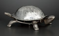 Silver Smalls:Other , AN ENGLISH SILVER AND SILVER PLATE NOVELTY BELL . Grey & Co.,Chester, England, circa 1923-1924. Marks: (lion passant), (Che...