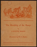 Books:Americana & American History, J. Evetts Haley. SIGNED. The Heraldry of the Range....
