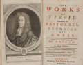 Books:Religion & Theology, Virgil. The Works of Virgil: Containing His Pastorals, Georgics and Æneis. London: Jacob Tonson, 1716. Fourt... (Total: 3 Items)