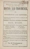 Books:Americana & American History, John Doggett, Jr. The Great Metropolis; or Guide to New-Yorkfor 1846. New York: H. Ludwig, Printer, [1845]. Sec...