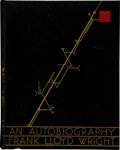 Books:Art & Architecture, Frank Lloyd Wright. An Autobiography. London New YorkToronto: Longmans, Green and Company, 1932.. First editi...