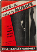 Books:Mystery & Detective Fiction, Erle Stanley Gardner. The D. A. Calls It Murder....