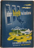 Books:Mystery & Detective Fiction, Raymond Chandler. The High Window. New York: Knopf: 1942..First edition, first printing. Octavo. Inscribed on f...
