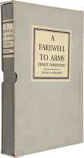 Books:Literature 1900-up, Ernest Hemingway. A Farewell to Arms....