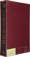 Books:Literature 1900-up, Cormac McCarthy. No Country for Old Men. New Orleans: B. E.Trice, 2005.. Signed limited edition. One of 325 sig...