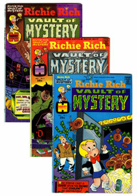 Richie Rich Vaults of Mystery #1-47 File Copies Group (Harvey, 1974-82) Condition: Average NM-