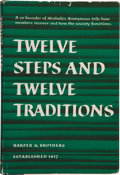 Books:Medicine, [Alcoholics Anonymous]. [Bill Wilson]. Anonymous. Twelve Steps and Twelve Traditions....