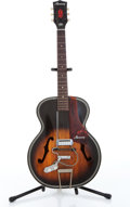 Musical Instruments:Electric Guitars, 1960s Harmony H1215 Sunburst Electric Guitar Serial# 3302...