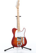 Musical Instruments:Electric Guitars, 1994 Fender Telecaster Red Burst Electric Guitar Serial# MN4138842....