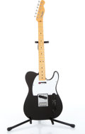 Musical Instruments:Electric Guitars, 2005 Fender American Telecaster Black Electric Guitar Body....