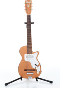 Musical Instruments:Electric Guitars, 1954 Harmony H44 Stratotone Copper Electric Guitar, No SerialNumber....