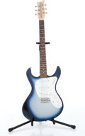 Musical Instruments:Electric Guitars, 1998 Danelectro Dano-Blaster Blue Sparkle Burst Electric GuitarSerial# 040200258....