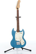 Musical Instruments:Electric Guitars, 1967 Kalamazoo KG2A Blue Electric Guitar Serial# 097742....