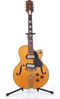 Musical Instruments:Electric Guitars, 1950s Harmony H63 Espanada Natural Electric Guitar....