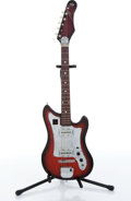 Musical Instruments:Electric Guitars, Kingston Encore Copy Wine Electric Guitar....