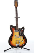 Musical Instruments:Electric Guitars, 1960s Baldwin GB 66 Sunburst Electric Guitar Serial# 14099...