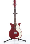 Musical Instruments:Electric Guitars, No Name Danelectro DC 59 Copy Red Electric Guitar....