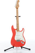 Musical Instruments:Electric Guitars, 1997 Fender American Stratocaster Peach Electric Guitar Serial#AMXN733642....