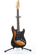 Musical Instruments:Electric Guitars, 1990s Kramer Focus 111S/VS Two-Tone Natural Burst Electric GuitarSerial# SI9100547....