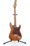 Musical Instruments:Electric Guitars, Home Crafted Washburn Copy Natural Electric Guitar....