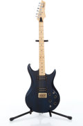 Musical Instruments:Electric Guitars, Recent Vantage Avenger Midnight Blue Electric Guitar, Serial #1080966....