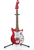 Musical Instruments:Electric Guitars, 1960s Teisco Del Rey ET-300 Red Electric Guitar Serial# 182244....