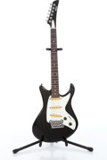Musical Instruments:Electric Guitars, 1984 Yamaha SC-300T Black Electric Guitar Serial# KJ06016....
