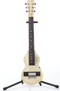Musical Instruments:Lap Steel Guitars, 1948 Rickenbacker Copy Ivory Crackle Lap Steel Guitar....