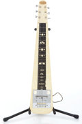 Musical Instruments:Lap Steel Guitars, 1950s Supro White-Pearl Lap Steel Guitar Serial# V36256....