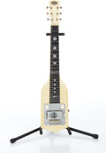 Musical Instruments:Lap Steel Guitars, 1950s Oahu White Pearl Lap Steel Guitar Serial# V37445....
