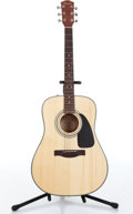 Musical Instruments:Acoustic Guitars, Fender DG8S Natural Acoustic Guitar Serial# CC:08060379....