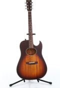 Musical Instruments:Acoustic Guitars, 1980s Martin Sigma SE-19 Sunburst Electric Acoustic Guitar Serial#12081....