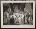 Antiques:Posters & Prints, John Boydell. Wonderful Engraved Print Depicting a Scene fromTaming of the Shrew by Shakespeare. [London]: 1794...
