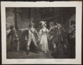 Antiques:Posters & Prints, John Boydell. Wonderful Engraved Print Depicting a Scene fromTaming of the Shrew by Shakespeare. [London]: 1795...