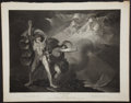 Antiques:Posters & Prints, John Boydell. Wonderful Engraved Print Depicting a Scene from Macbeth by Shakespeare. [London]: 1798. Mild tonin...