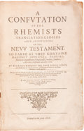 Books:Religion & Theology, Thomas Cartwright. A Confutation of the Rhemists. Translation,Glosses and Annotations on the New Testament......